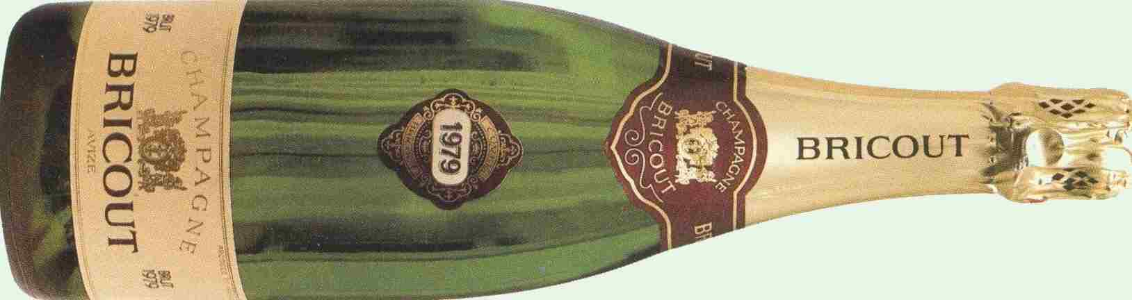 history of champagne Bricout founded in 1966 ------>